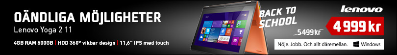 Back To School 2014, 3 - Lenovo Yoga 2 11