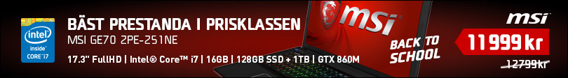 Back To School 2014, 2 - MSI GE70 2PE-251NE