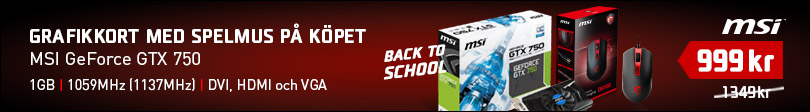 Back To School 2014, 2 - MSI GTX 750