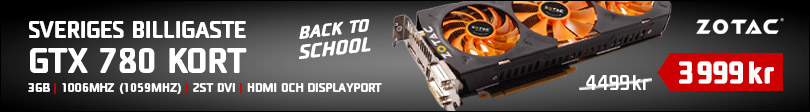 Back To School 2014, 3 - Zotac GTX 780