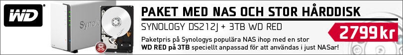Synology DS212J WD RED