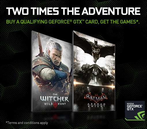 Nvidia Batman Witcher 3