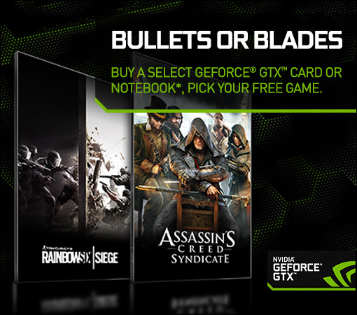 Nvidia launch Bullets Or Blades