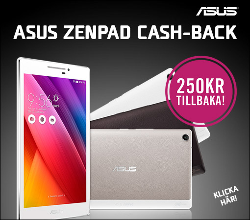Asus Zenpad cash-back