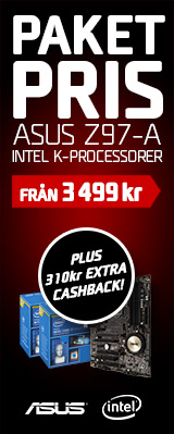 Intel ASUS paketpris