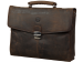 "dbramante1928 14"" Leather Briefcase Hunter Brown"