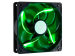 Cooler Master 120mm Sickle Flow 2000rpm Grön LED