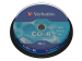CD-R Verbatim 700MB 52x 10p, Spindel