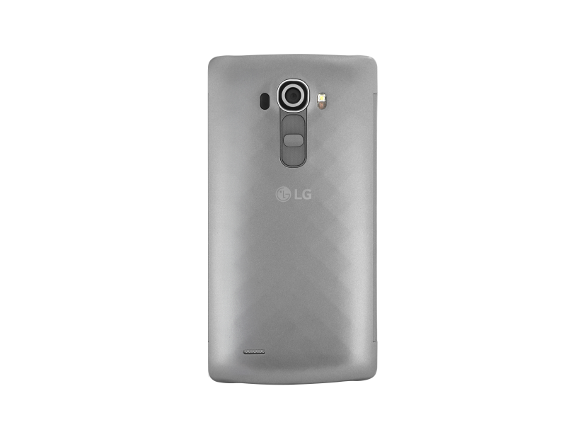 Lg g4 quickcircle wireless charge cover silver cfr 100 ageusv