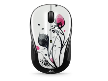 Logitech M325 Wireless Mouse Fingerprint Flowers 910-002402